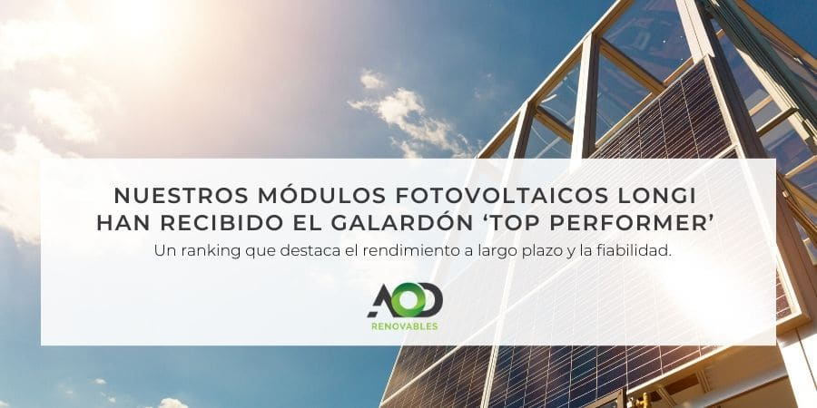 Módulos fotovoltaicos Longi Solar