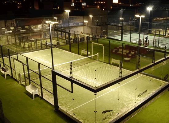 Iluminación deportiva led ejemplo 1