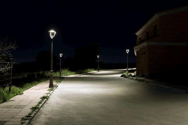 luminaria pública ejemplo 1