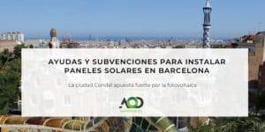 Placas solares Barcelona